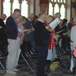 Pentecost Liturgy June 4, 2006