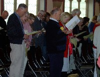 A Pilgrim People at Pentecost Sunday liturgy June 4, 2006
