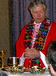 Rev Ron Ingalls presiding at Pentecost Liturgy June 4, 2006